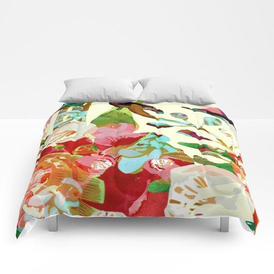 clown floral Comforters