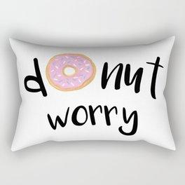 Donut Worry Rectangular Pillow