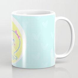 Lady Octopus with a handbag and a bow on a head Coffee Mug