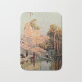 Kelly, Robert Talbot (1861-1934) - Egypt 1903, In the oasis of Fayum Bath Mat