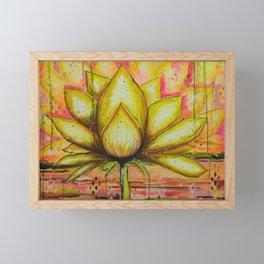 Gold Lotus - Gold Lotus Oracle Series Framed Mini Art Print