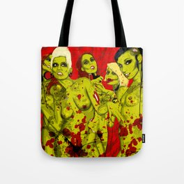 SEXY ZOMBIES Tote Bag