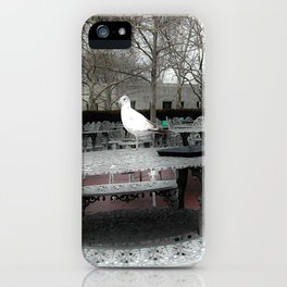 Pigeons on the Park  iPhone Case