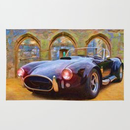 Classic Cobra – Painting - by Liane Wright Rug