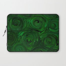 Emerald Green Roses Laptop Sleeve