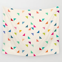 Seamless geometric pattern with triangles Wall Tapestry