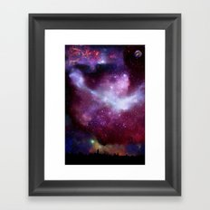 A Night Without Lights Framed Art Print