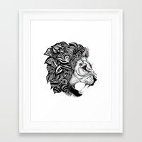 leon Framed Art Prints featuring Leon by Artful Schemes