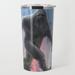 Bigfoot at Twilight Travel Mug