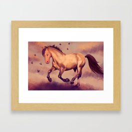 Happiness in a Dream Framed Art Print