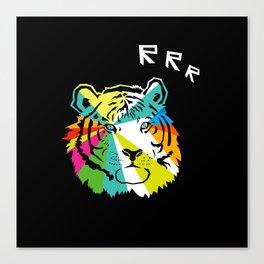 RRR Tiger Canvas Print
