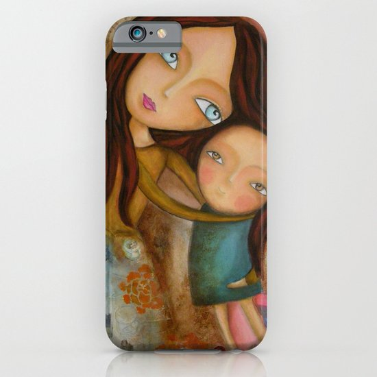 Embrace of a Mother iPhone & iPod Case