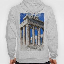 Acropolis Of Athens Hoody
