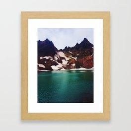Broken Top Framed Art Print