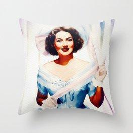 Ann Sothern, Vintage Actress Throw Pillow