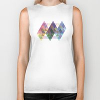 fig Biker Tanks featuring Fig. 034 by Maps of Imaginary Places