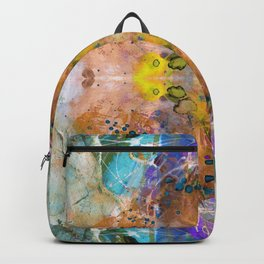 Golden point of light Backpack