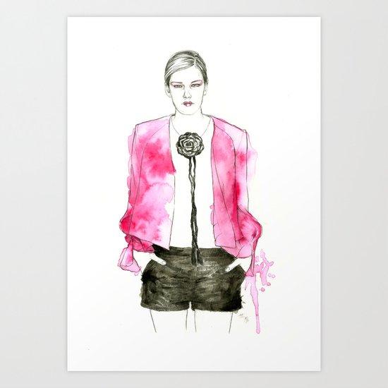 Sass + Bide Art Print