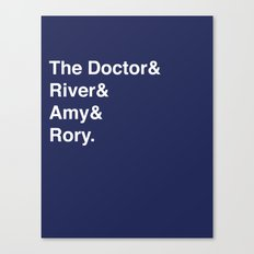Doctor& Canvas Print