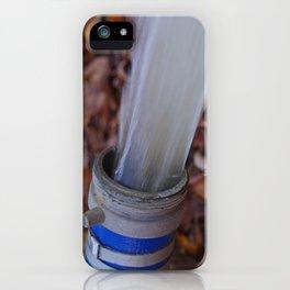 Gushing iPhone Case