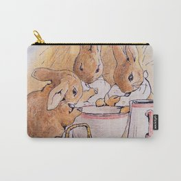 Peter Rabbit with his parents Carry-All Pouch