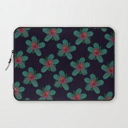 Glowing Hibiscus at Dusk Laptop Sleeve