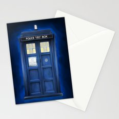 blue box Stationery Cards