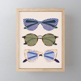 Sunglasses Framed Mini Art Print