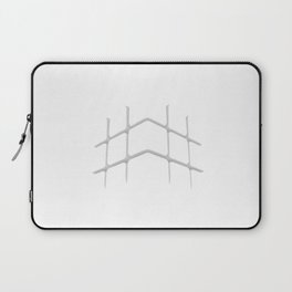 "HI Challenges: cubed up, crossed out, hashed out - ""#hilitelife"" Laptop Sleeve"