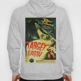 Vintage poster - Target Earth Hoody