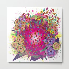 Butterfly Concept Metal Print