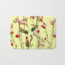 The Blue Banded Bee (Amegilla cingulata) Bath Mat