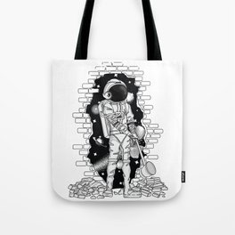 Astronaut on the loose Tote Bag