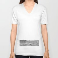 sail V-neck T-shirts featuring sail by Kearsten Taylor