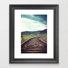 Travel Alone Framed Art Print