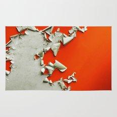 Orange Paper Peel Rug