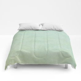 Green Sea Glass Comforters