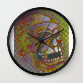 Skull 3 Wall Clock