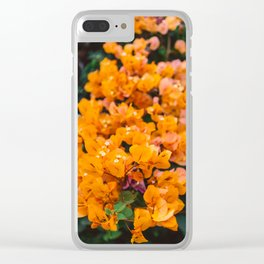 California Blooms III Clear iPhone Case