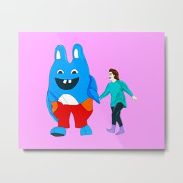 I Love You, Bingo Bronson! Metal Print