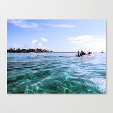 Open Sea Canvas Print