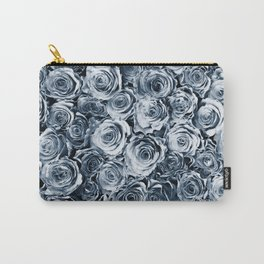 Blue Roses Carry-All Pouch