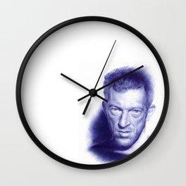 Vincent Cassel on ballpen Wall Clock
