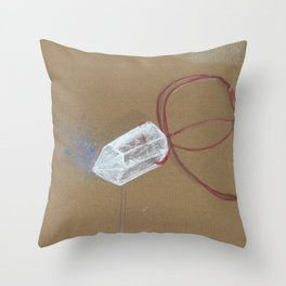 Quartz - These are the things I use to define myself Throw Pillow