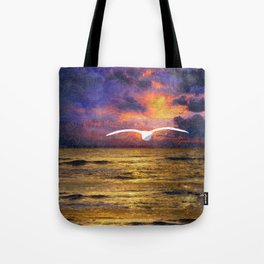 Dissolving Solidity Tote Bag