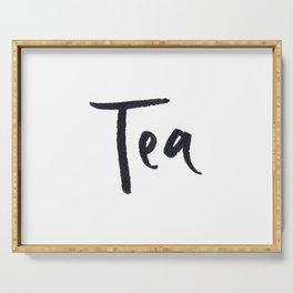 Tea 2 Serving Tray