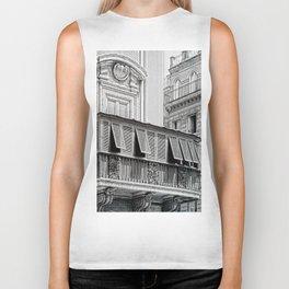 Roman city balcony Biker Tank