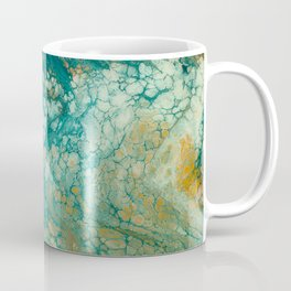 Mermaid Tails Resin Painting Coffee Mug