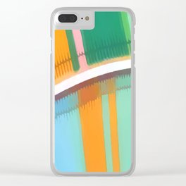 Individuality #abstract #popart #buyartprints #society6 Clear iPhone Case