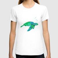 sea turtle T-shirts featuring Sea Turtle  by MacDonald Creative Studios